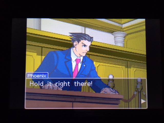 逆転裁判 北米版 オールドバグ証言132