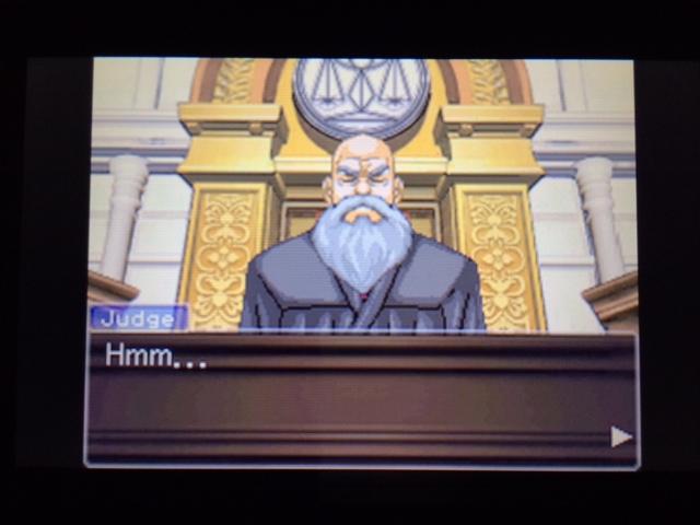 逆転裁判 北米版 オールドバグ証言134