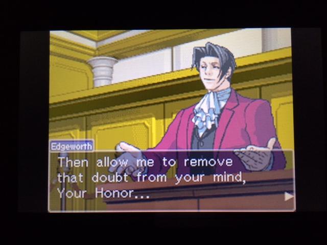 逆転裁判 北米版 オールドバグ証言137