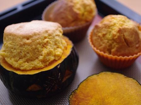 ジャックオランタンのケーキとかぼちゃのカップケーキ06