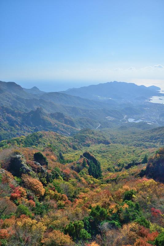 寒霞渓紅葉1 (香川県 小豆郡 小豆島)