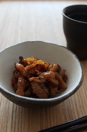 鶏皮と生姜の佃煮風