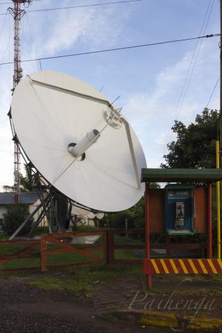 電話局の新アンテナ