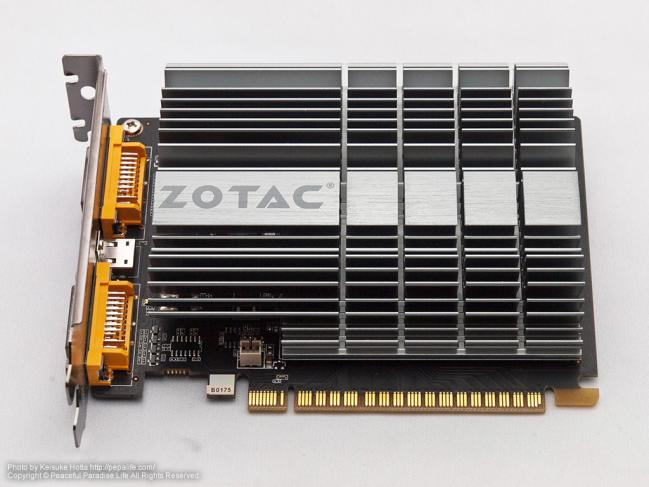 ZOTAC GeForce GT610(ZTGT610-1GD3ZONER001/ZT-60603-20L)