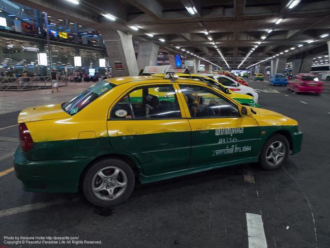 バンコクのタクシー