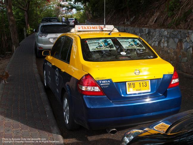 パタヤのタクシー