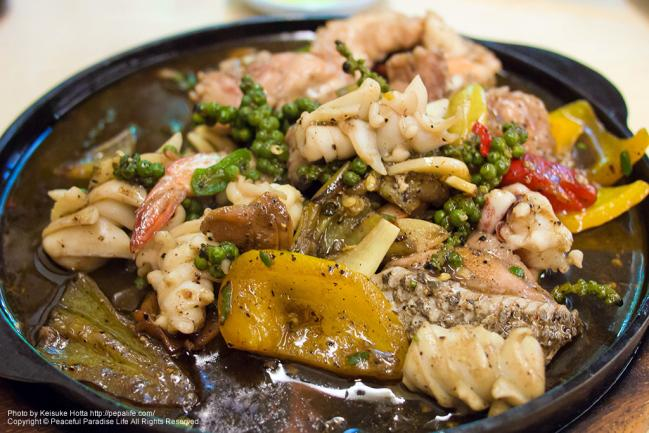 ソーントーン・レストラン(sornthong restaurant)で注文した料理