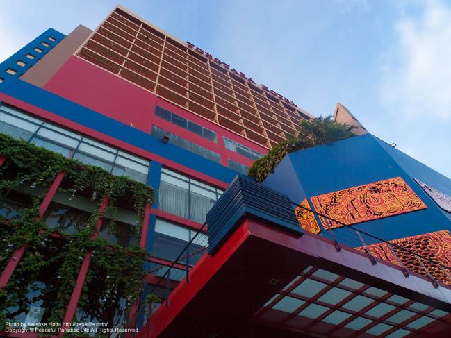 トンタラ・リバービュー・ホテルの外観