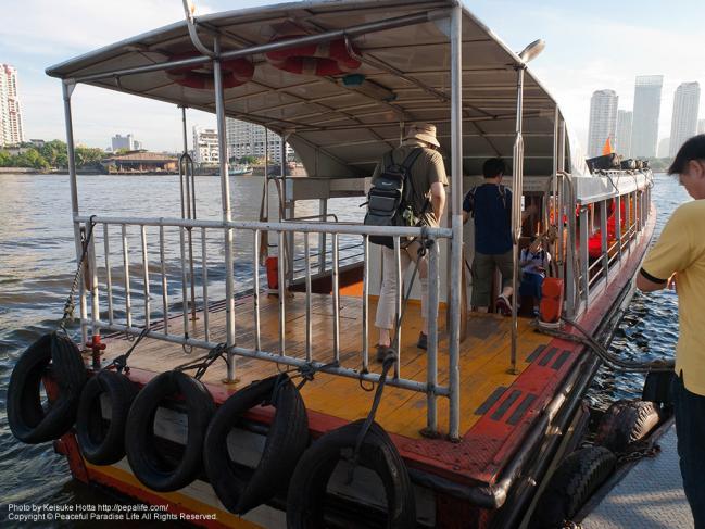 Wat Worachanyawasの船着場