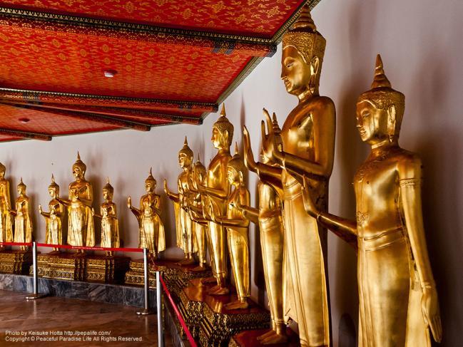 ワット・ポー(Wat Pho)の仏像