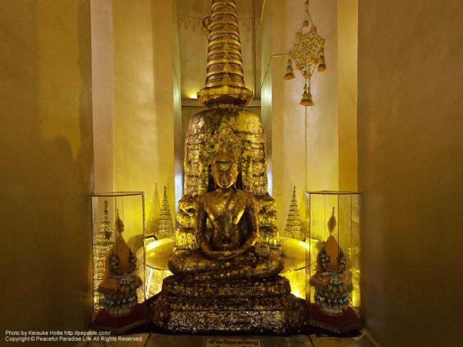 ワット・サケット(Wat Saket/黄金の丘)の仏像