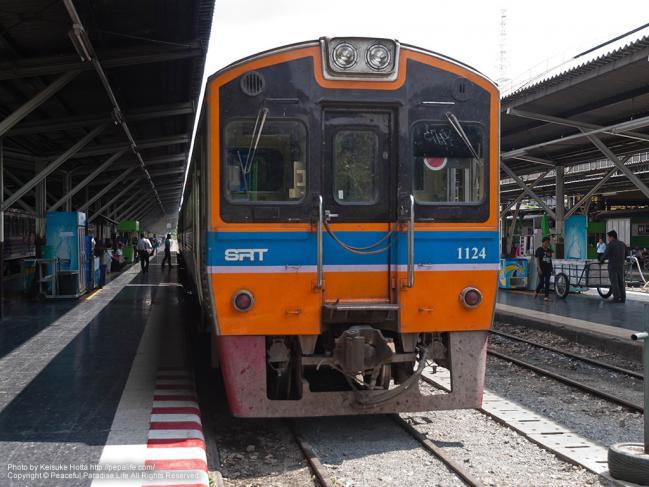 この列車に乗車した、THN系気動車 1124