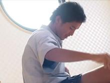 ゲイ動画:激烈かわいい体育会君危機一髪 !?