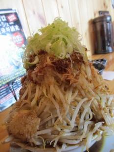 麺マッチョ カレーラーメン野菜増増 野菜