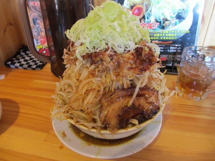 麺マッチョ カレーラーメン野菜増増