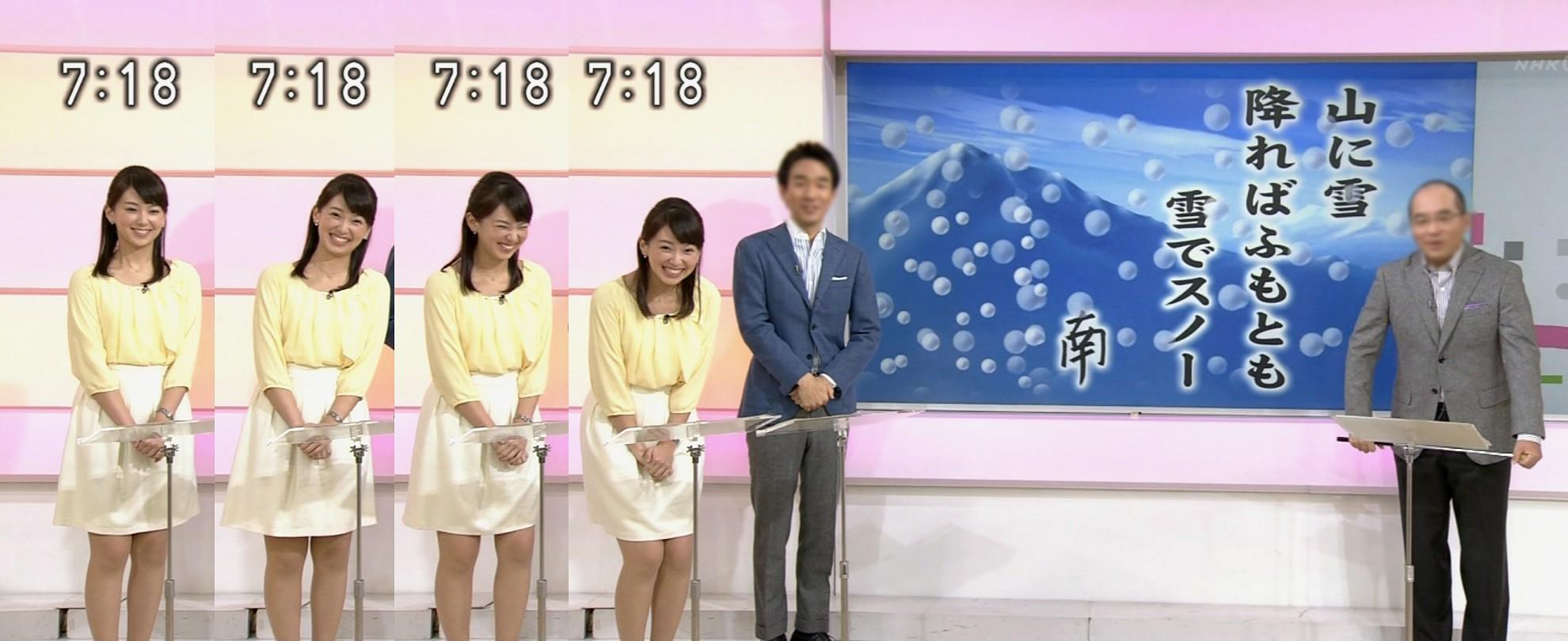 ... 麻由子 ☆ おはよう日本~NHK