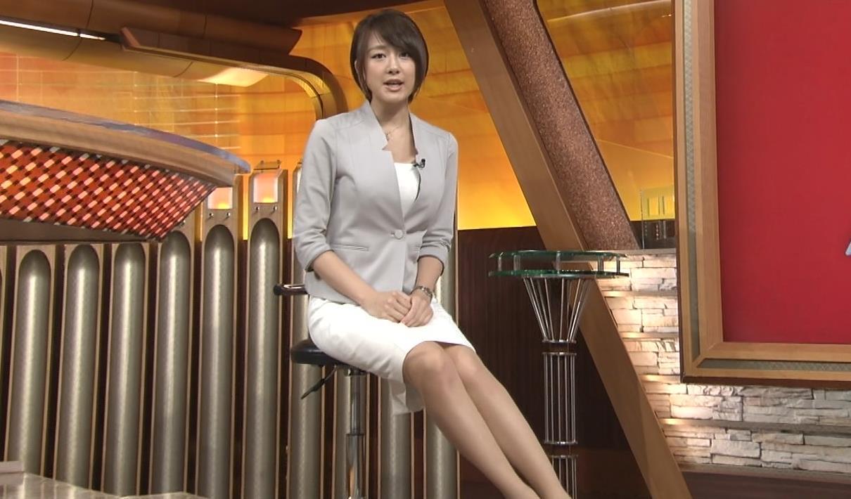 大島由香里 ミニスカートキャプ画像(エロ・アイコラ画像)