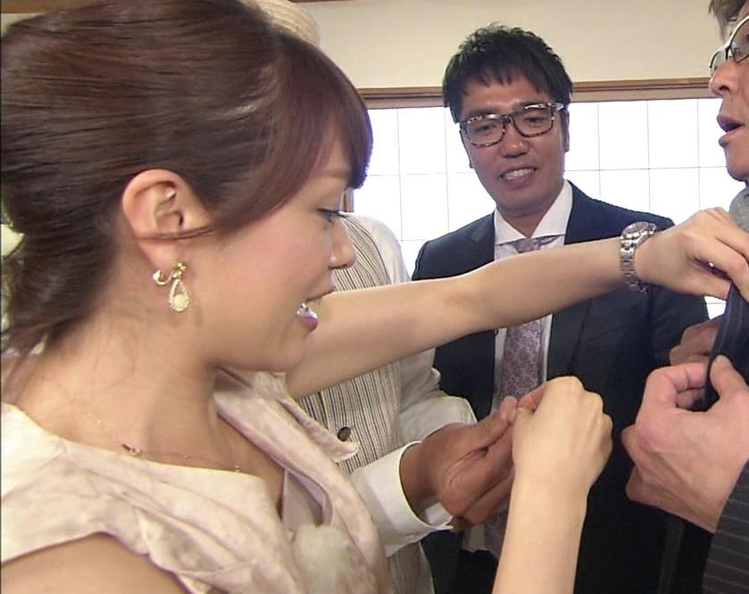 本田朋子 胸ちら
