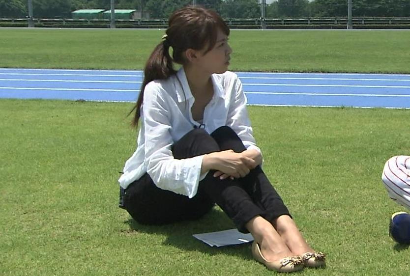 宮澤智 体育座りキャプ画像(エロ・アイコラ画像)