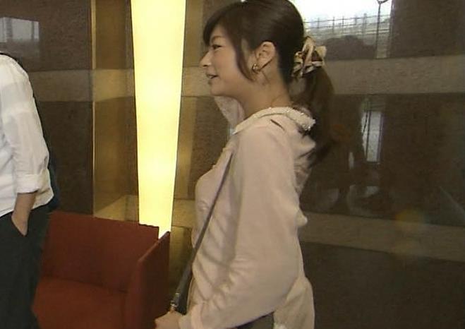 生野陽子 横乳キャプ画像(エロ・アイコラ画像)