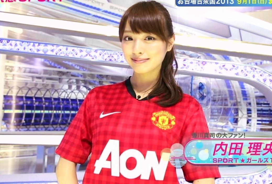 内田理央 ミニスカ野球キャプ画像(エロ・アイコラ画像)