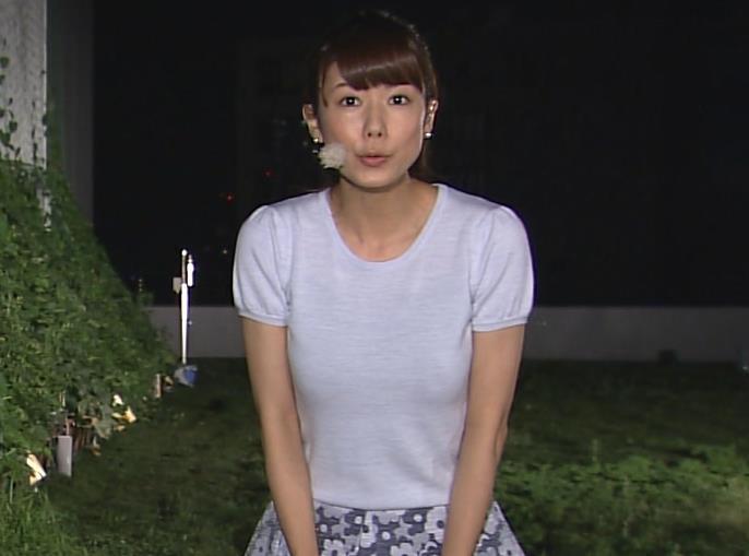 青山愛 巨乳Tシャツキャプ画像(エロ・アイコラ画像)