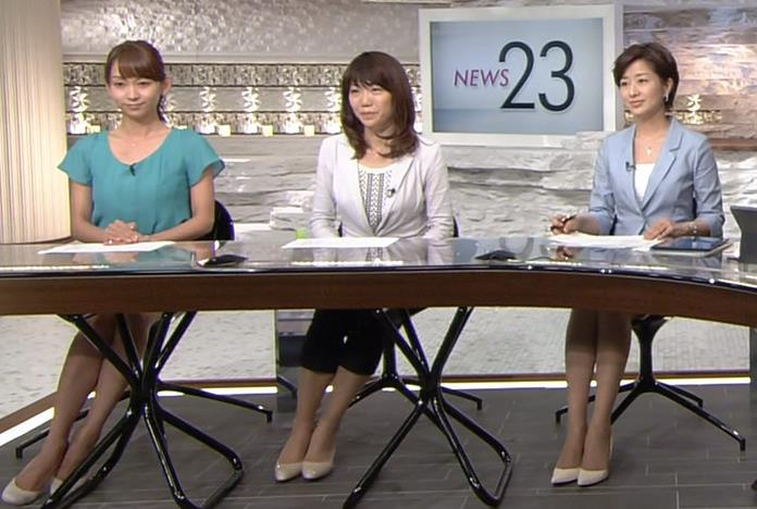 膳場貴子 ミニスカートキャプ・エロ画像2