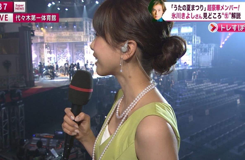 加藤綾子 胸元のアップ画像キャプ画像(エロ・アイコラ画像)