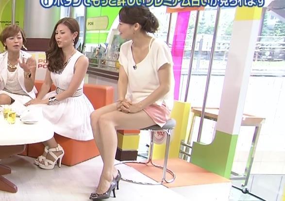 佐藤良子 美脚露出しすぎ (PON 20130812)