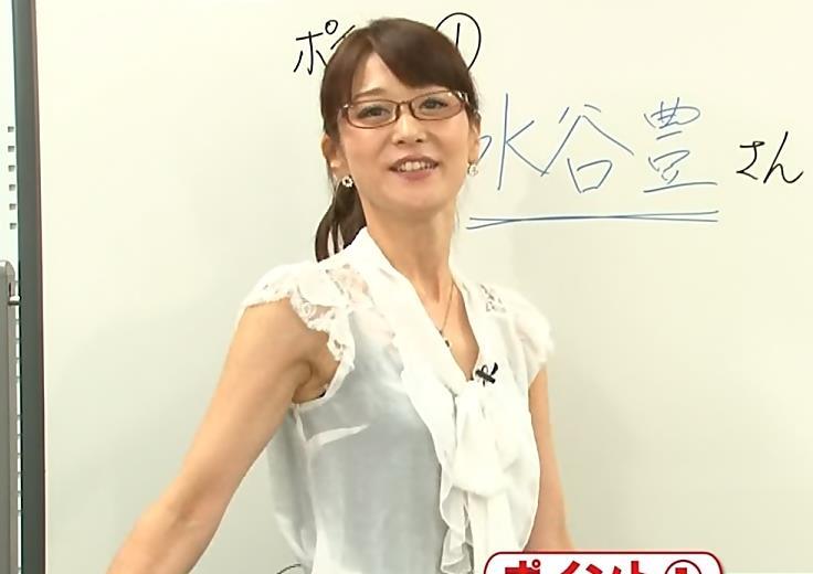 森葉子 メガネフェチと脇フェチ向けキャプ画像(エロ・アイコラ画像)