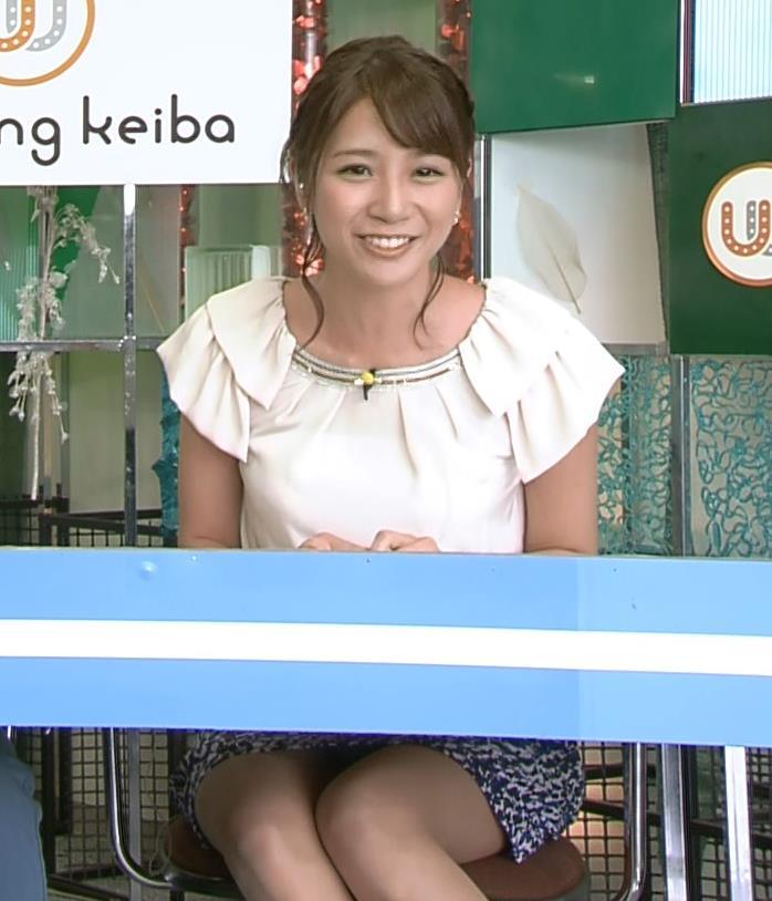 植田萌子 ミニスカのデルタゾーンキャプ画像(エロ・アイコラ画像)