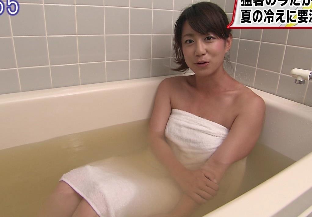 山元香里 入浴シーンキャプ画像(エロ・アイコラ画像)