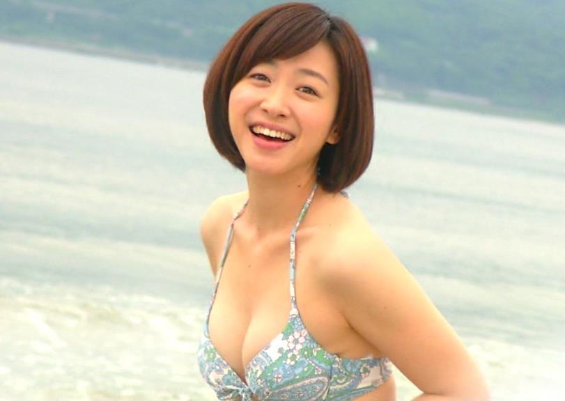 黛英里佳 転勤ドラマのはるみの水着姿キャプ画像(エロ・アイコラ画像)