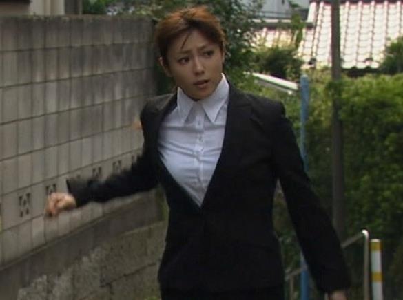 深田恭子 胸がぱっつんぱっつんキャプ画像(エロ・アイコラ画像)