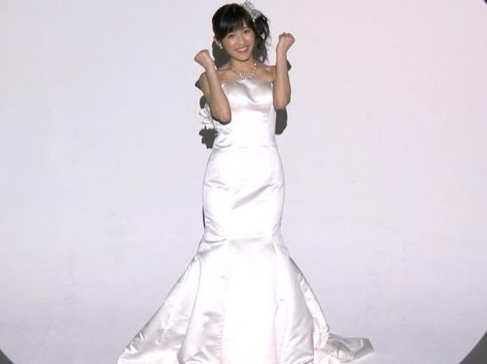 渡辺麻友 ウェディングドレスがエロかわいいキャプ画像(エロ・アイコラ画像)