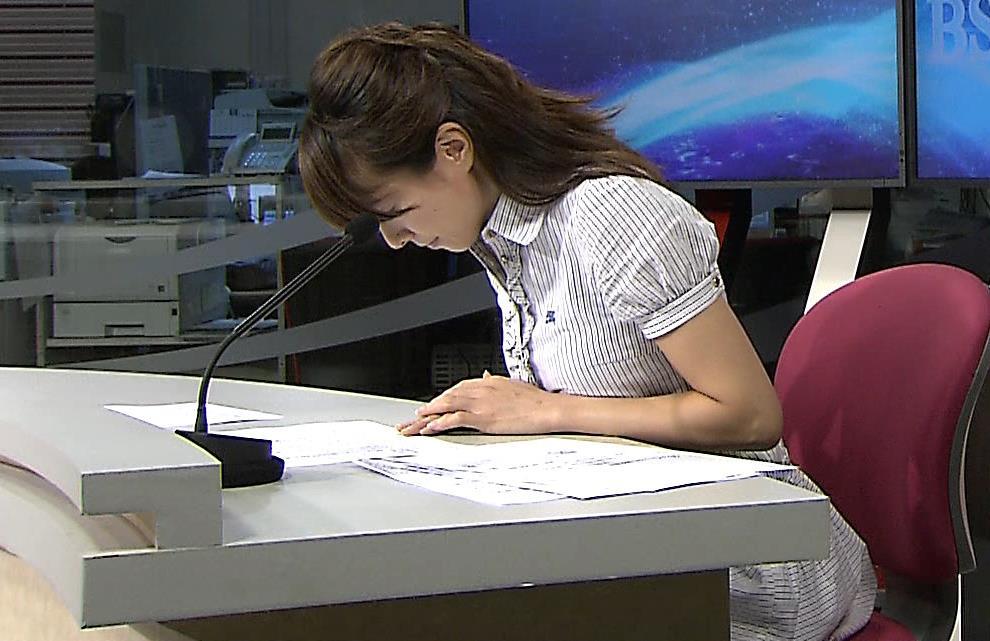 安田真理 巨乳アナキャプ画像(エロ・アイコラ画像)