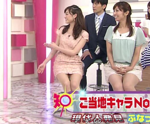 新井恵理那 パンチラ寸前キャプ画像(エロ・アイコラ画像)