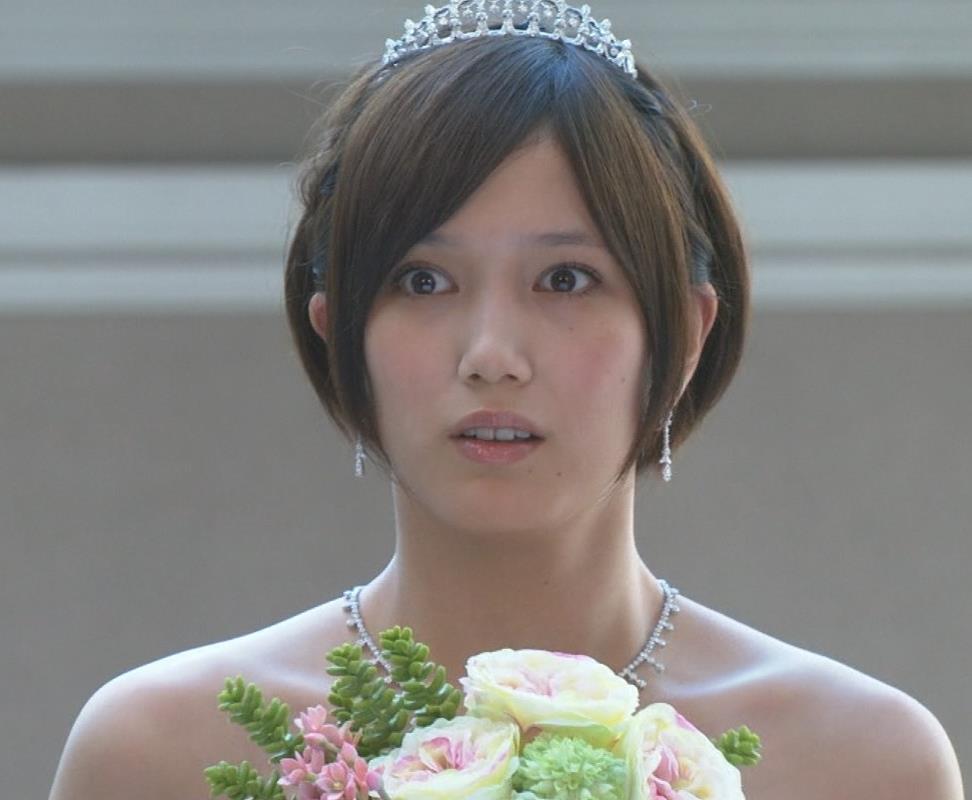 本田翼 ウェディングドレスキャプ画像(エロ・アイコラ画像)