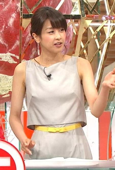 加藤綾子 乳首が透けているように見える服キャプ・エロ画像3