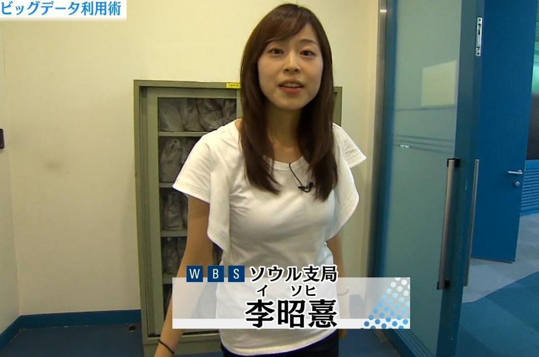 美人韓国人リポーター キャプ画像(エロ・アイコラ画像)