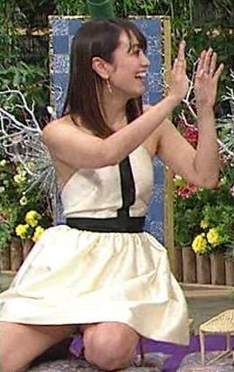 脊山麻理子 ミニスカートで正座キャプ画像(エロ・アイコラ画像)