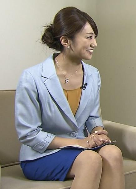 松村未央 ミニスカートキャプ画像(エロ・アイコラ画像)