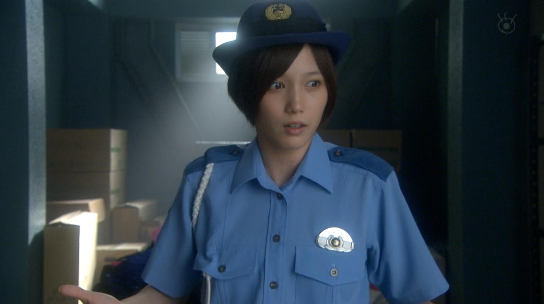 本田翼 婦警コスプレキャプ画像(エロ・アイコラ画像)