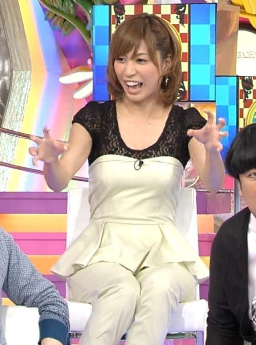 大島麻衣 胸のふくらみ画像
