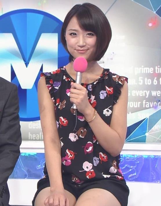 竹内由恵 今週は短パン太ももキャプ画像(エロ・アイコラ画像)