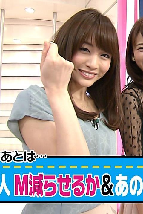 新井恵理那 かわいい系女子アナキャプ画像(エロ・アイコラ画像)