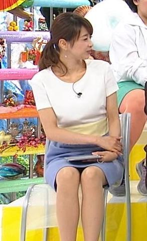 加藤綾子 股が少し緩めキャプ画像(エロ・アイコラ画像)
