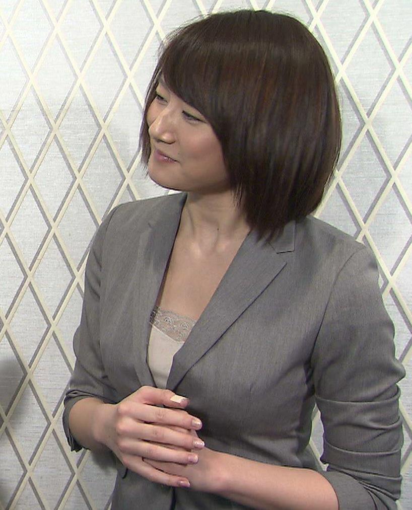 大島由香里 胸元キャプ画像(エロ・アイコラ画像)