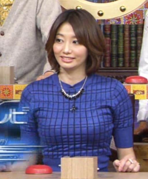 眞鍋かをり 巨乳アピールキャプ画像(エロ・アイコラ画像)