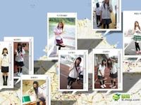 台湾の女子高生制服マップが登場